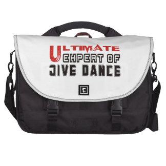 Ultimate Expert Of Jive dance. Laptop Commuter Bag