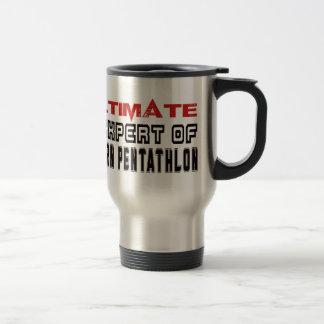 Ultimate Expert Of Modern Pentathlon. Stainless Steel Travel Mug