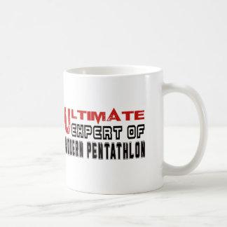 Ultimate Expert Of Modern Pentathlon. Basic White Mug