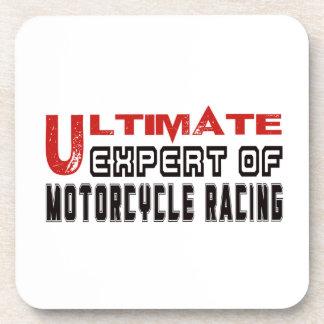 Ultimate Expert Of Motorcycle Racing. Drink Coasters