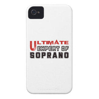 Ultimate Expert Of Soprano. Case-Mate iPhone 4 Cases