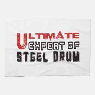 Ultimate Expert Of Steel Drum. Hand Towels