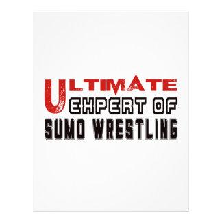 Ultimate Expert Of Sumo Wrestling. Letterhead