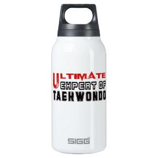 Ultimate Expert Of Taekwondo. 10 Oz Insulated SIGG Thermos Water Bottle