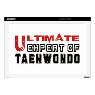 Ultimate Expert Of Taekwondo. Laptop Decal