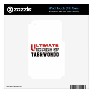 Ultimate Expert Of Taekwondo. iPod Touch 4G Decals