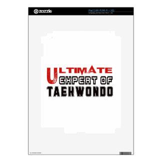Ultimate Expert Of Taekwondo. Skin For iPad 2