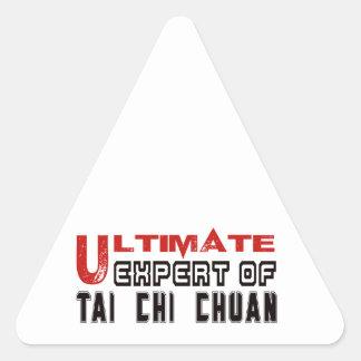Ultimate Expert Of Tai Chi Chuan. Triangle Sticker