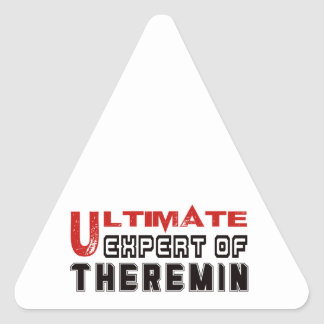 Ultimate Expert Of Theremin. Triangle Sticker