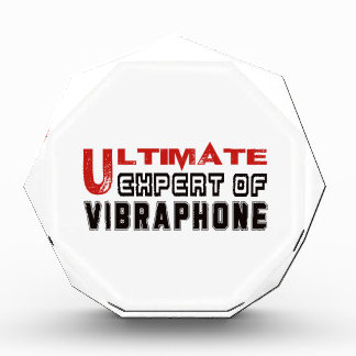 Ultimate Expert Of Vibraphone. Acrylic Award