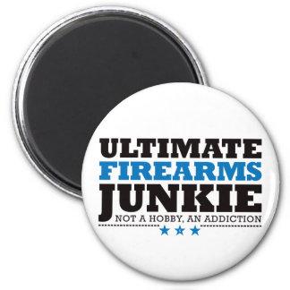 Ultimate Firearms Junkie - Blue Magnet