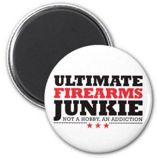 Ultimate Firearms Junkie - Red Magnet