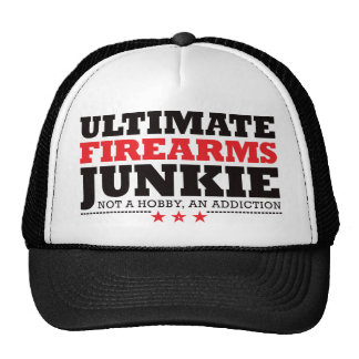 Ultimate Firearms Junkie - Red Trucker Hat