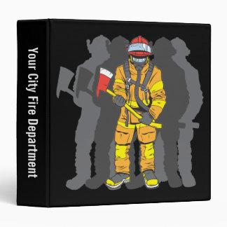 Ultimate Firefighter 3 Ring Binder