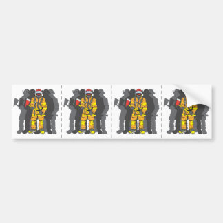 Ultimate Firefighter Bumper Sticker
