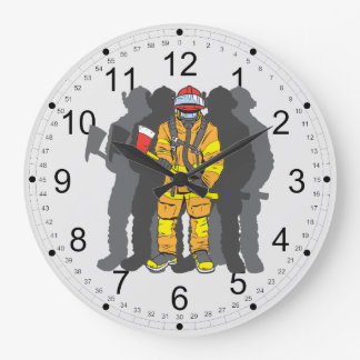 Ultimate Firefighter Wall Clock