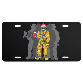 Ultimate Firefighter License Plate
