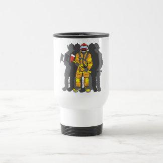 Ultimate Firefighter 15 Oz Stainless Steel Travel Mug