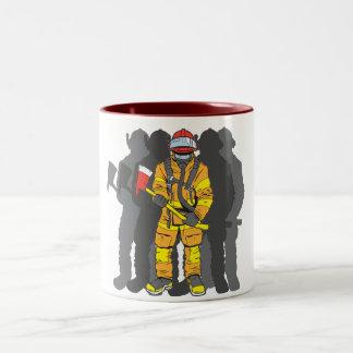 Ultimate Firefighter Two-Tone Coffee Mug