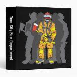Ultimate Firefighter Vinyl Binder