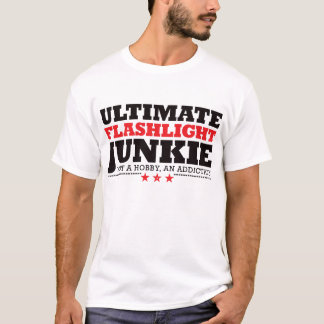 Ultimate Flashlight Junkie - Red T-Shirt