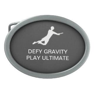 Ultimate Frisbee Belt Buckle