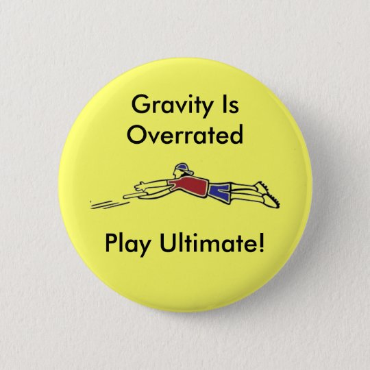 Ultimate Frisbee Button