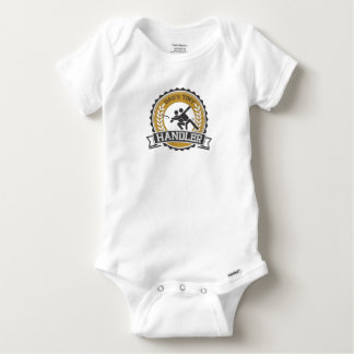 Ultimate Frisbee - Daddy's little Handler Baby Onesie