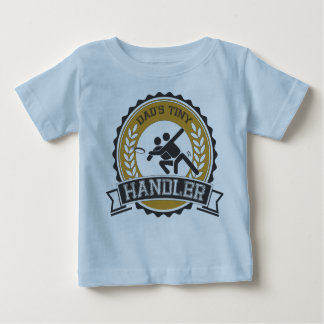 Ultimate Frisbee - Daddy's little Handler Baby T-Shirt