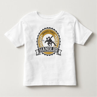 Ultimate Frisbee - Daddy's little Handler Toddler T-shirt