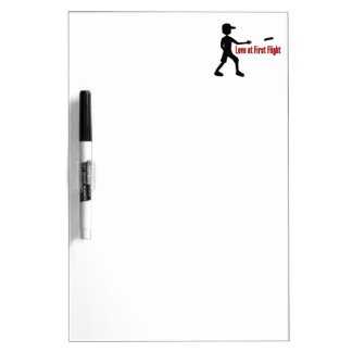 Ultimate Frisbee Love at First Flight Dry-Erase Board