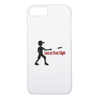 Ultimate Frisbee Love at First Flight iPhone 8/7 Case