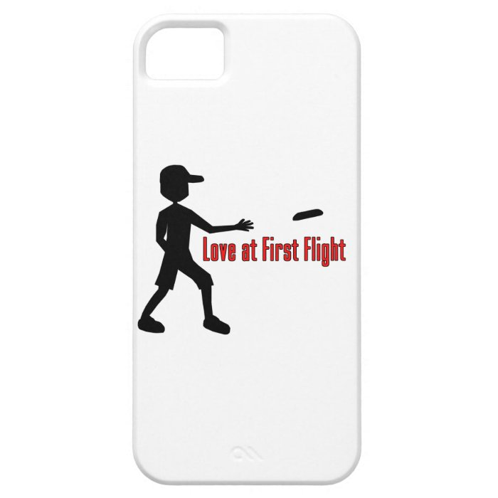 Ultimate Frisbee Love at First Flight iPhone SE/5/5s Case