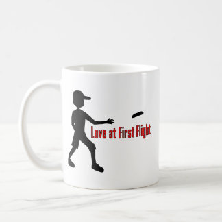 Ultimate Frisbee Love at First Flight Mugs