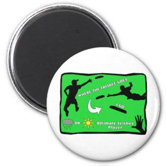 Flying Disc Magnets, Flying Disc Magnet Designs for your Fridge & More