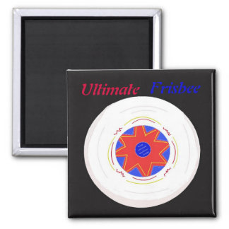 Ultimate Frisbee Magnet
