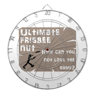Ultimate Frisbee Nut Dart Board