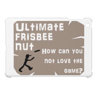 Ultimate Frisbee Nut iPad Mini Cover