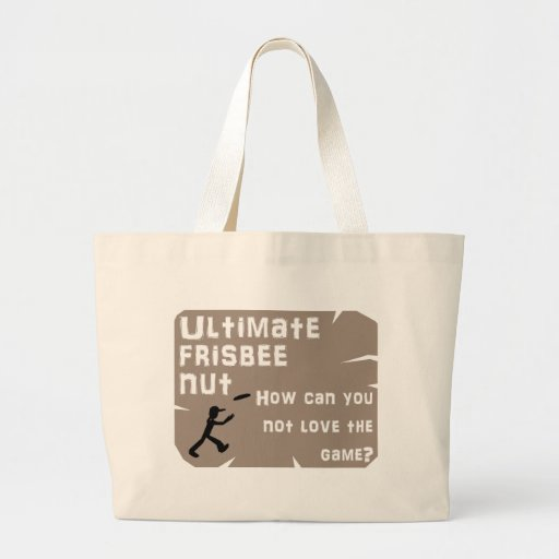 Ultimate Frisbee Nut Tote Bag