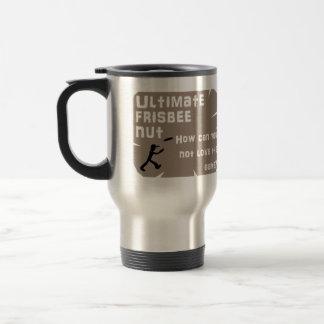 Ultimate Frisbee Nut Travel Mug