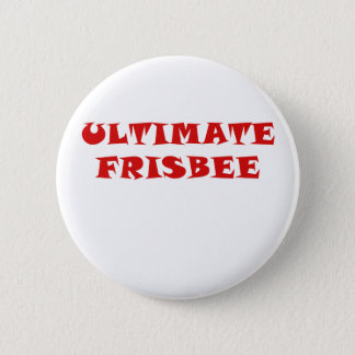 Ultimate Frisbee Pinback Button