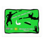 Ultimate Frisbee Postcard
