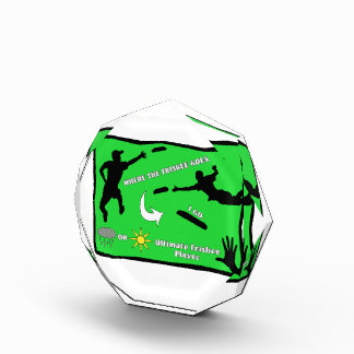 Ultimate Frisbee Rain or Shine Award