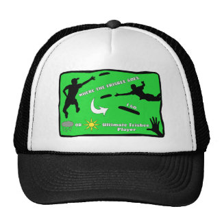 Ultimate Frisbee Rain or Shine Cap Trucker Hats