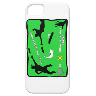 Ultimate Frisbee Rain or Shine iPhone 5 Covers