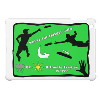 Ultimate Frisbee Rain or Shine iPad Mini Case