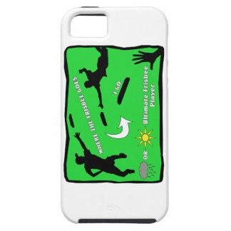 Ultimate Frisbee Rain or Shine iPhone SE/5/5s Case