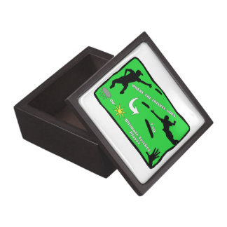 Ultimate Frisbee Rain or Shine Jewelry Box