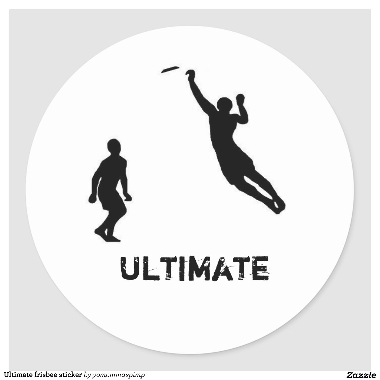 The gallery for --> Ultimate Frisbee Layout Silhouette