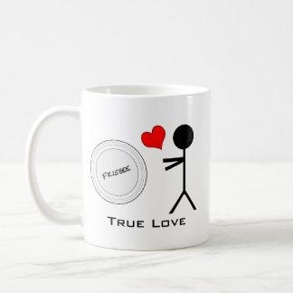 Ultimate Frisbee True Love Classic White Coffee Mug